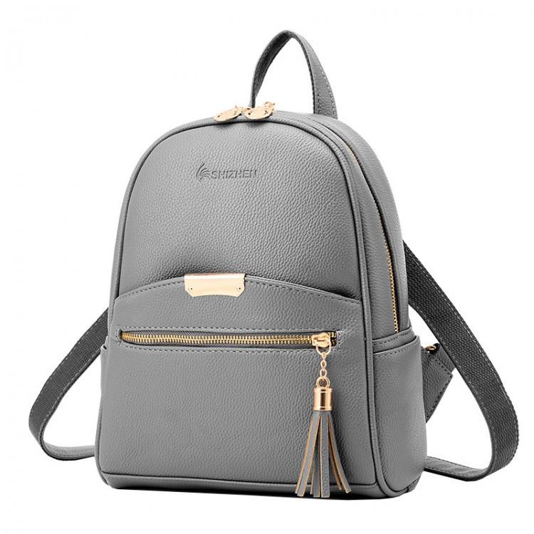 Рюкзак женский Suivea серый