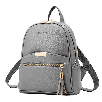 Рюкзак женский Suivea серый, фото 2