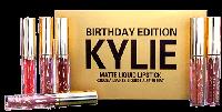 Набор жидких помад Matte Liquid Lipstick Kylie Birthday Edition 6цветов