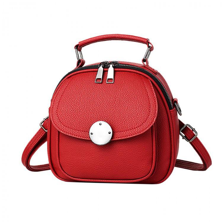 Рюкзак женский Jennyfer красный eps-8158