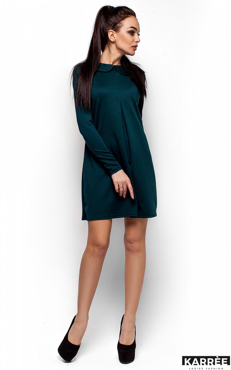 Женское платье Karree Глория, темно-зеленый