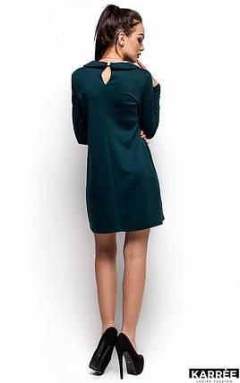 Женское платье Karree Глория, темно-зеленый, фото 2
