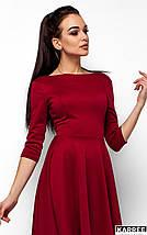 Платье с V-образным вырезом на спине Karree марсала, фото 2