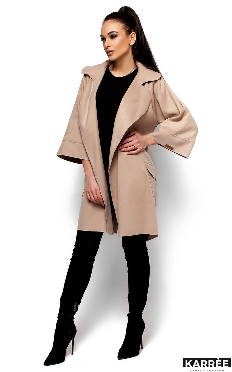 Женское пальто Karree Зарина, бежевый