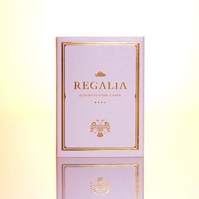 Карты игральные | Regalia White Playing Cards by Shin Lim