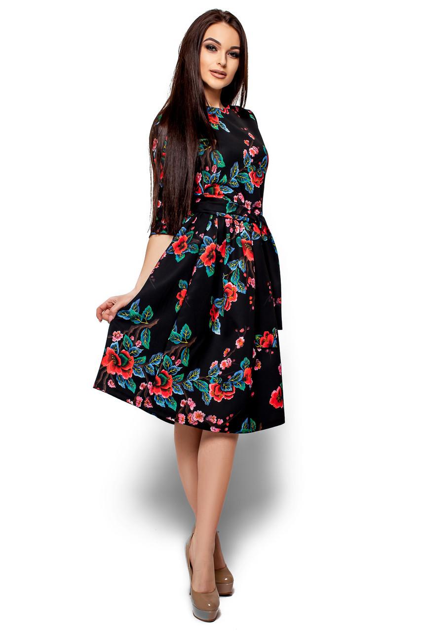 Женское платье Karree Сакура, черный