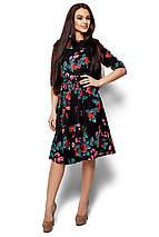 Женское платье Karree Сакура, черный, фото 2