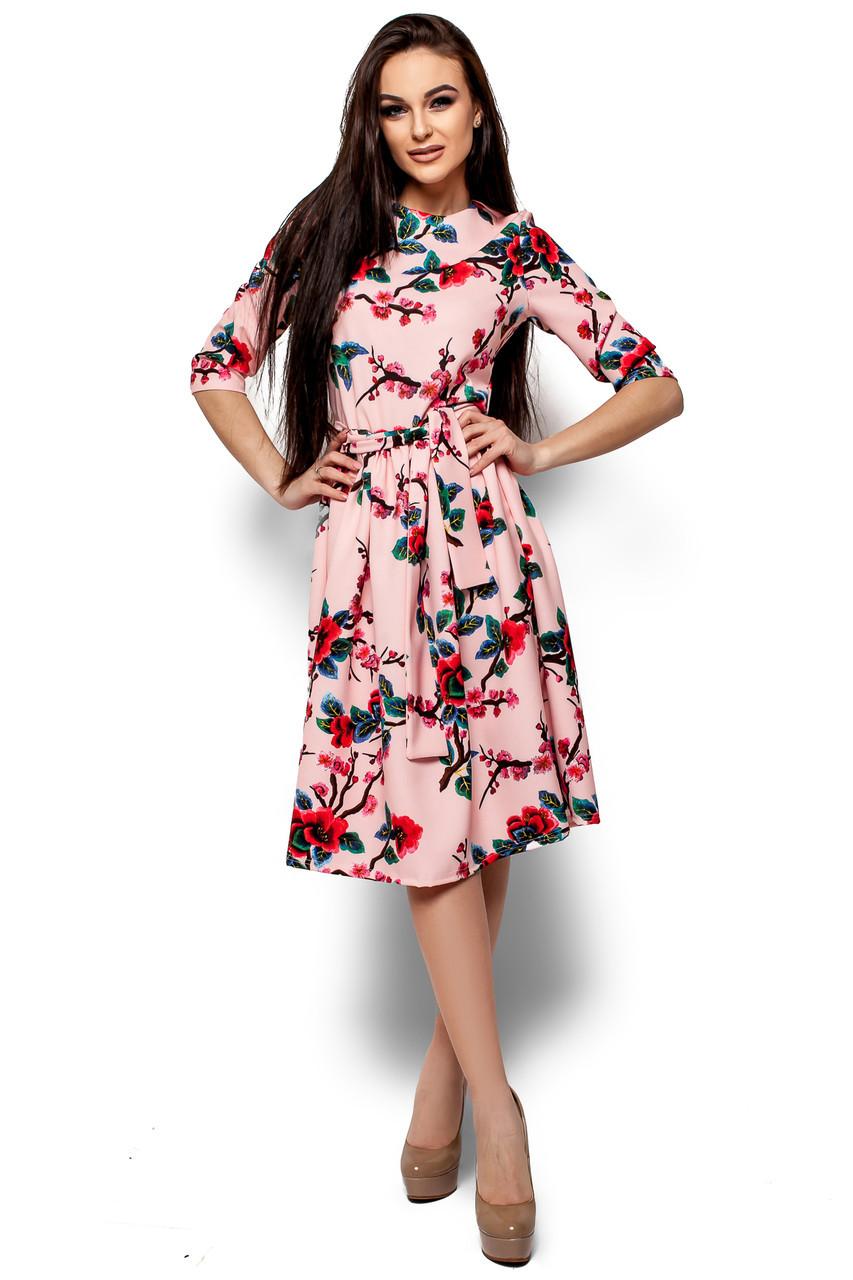 Женское платье Karree Сакура, розовый