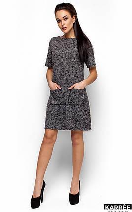 Женское платье Karree Стефани, черный, фото 2