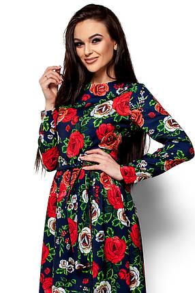 Женское платье Karree Техас, темно-синий, фото 2