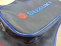 Чехол на лодочный мотор SUZUKI 4/5/6 c карманом- сумкой