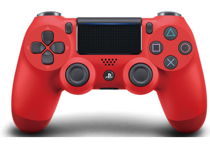 Беспроводной геймпад PlayStation Dualshock v2 Bluetooth PS4 Red Magma
