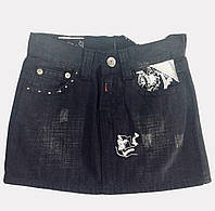 Юбка Replay джинсовая мини с вышивкой, фото 1