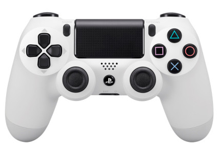 Беспроводной геймпад PlayStation Dualshock V2 Bluetooth PS4 White