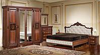 Набор спальни Аманда с четырехдверным шкафом (Скай)