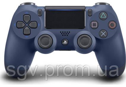 Беспроводной геймпад PlayStation Dualshock V2 Bluetooth PS4 Midnigth Blue
