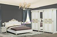 Набор спальни Аманда с пятидверным шкафом (Скай)