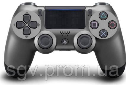 Беспроводной геймпад PlayStation Dualshock V2 Bluetooth PS4 Steel Black