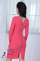 Облегающее платье с молнией вдоль спинки 021/03, фото 1
