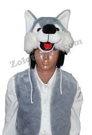Комплекты карнавальные - жилеты и шапки зверей