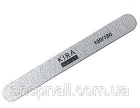 Пилка для ногтей Kira Nails, прямая 100/180, стандарт