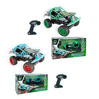 Машинка Баггі ручне управління, акумулятор, 22см, звуки, амортизатори, 2 кольори, в коробці, фото 1