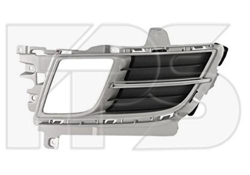 Решетка в бампер Mazda 6 GH (08-10) - левая (FPS) в сборе