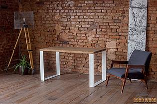 Стол Loft L-10, 1600*900, ясень или дуб, мебель лофт