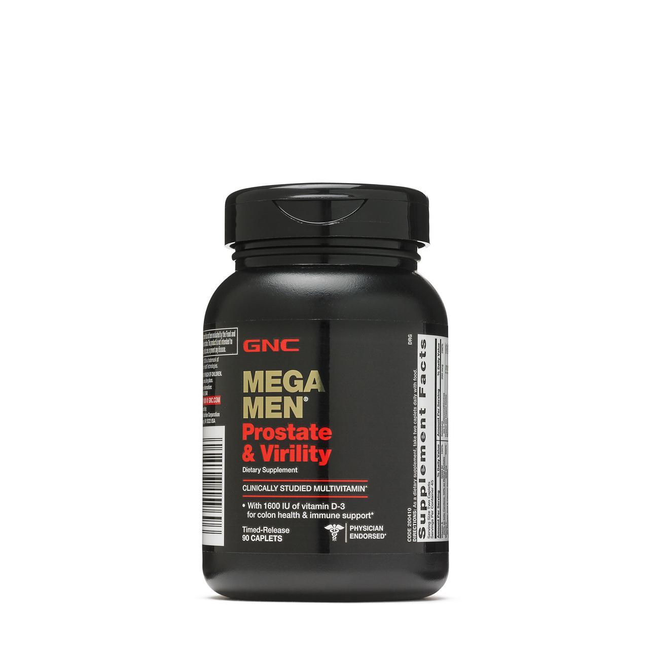 GNC Mega Men Prostate & Virility 90 caps