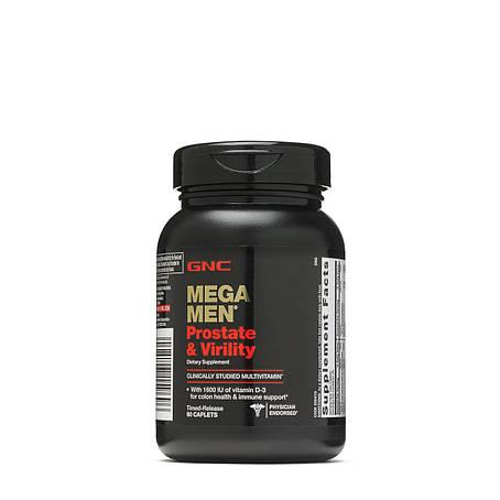 GNC Mega Men Prostate & Virility 90 caps, фото 2