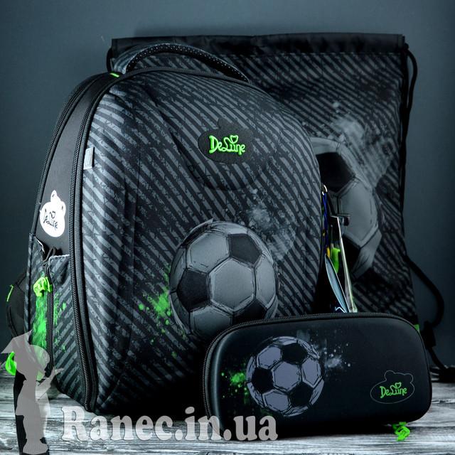 Школьный набор DeLune (рюкзак+сменка+пенал+брелок) 7mini-007