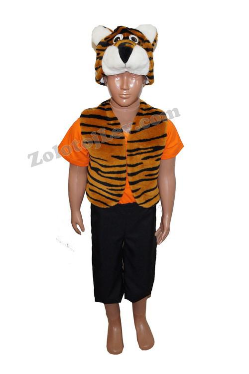 Комплект Тигра жилет, шапка