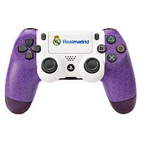 Персонализированный геймпад Sony Dualshock v2 Real Madrid (Violet), фото 1