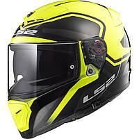Шлем LS2 FF390 BREAKER BOLD BLACK HI-VIS YELLOW M