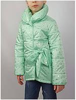 Куртка для девочки  690 весна-осень, размеры на рост от 122 до 140 возраст от 6 до 10 лет, фото 1