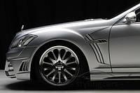 Передние крылья Mercedes S-Class W221 Wald Black Bison