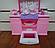 Мебель кухня Gloria 9986GB, газ, плита, мойка, духовка, холодильник, раковина, посуда, в кор-ке., фото 6