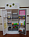 Мебель кухня Gloria 9986GB, газ, плита, мойка, духовка, холодильник, раковина, посуда, в кор-ке., фото 9