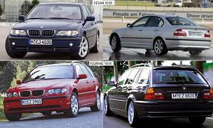 Кузовные запчасти для BMW 3 (E46) 1998-01