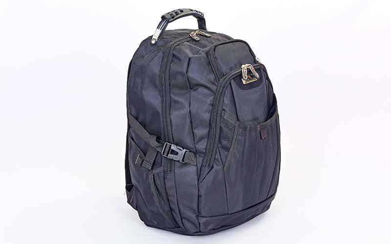 Рюкзак городской VICTOR 9366 (PL, р-р 49x34x18см, черный)