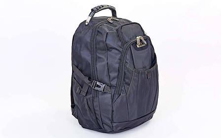 Рюкзак городской VICTOR 9366 (PL, р-р 49x34x18см, черный) , фото 2
