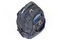 Рюкзак городской VICTOR 9366 (PL, р-р 49x34x18см, черный) , фото 3