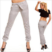 Светло-серые женские штаны