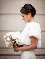 Шикарные свадебные фотосессии в мехах
