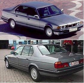 Кузовные запчасти для BMW 7 (E32) 1987-94