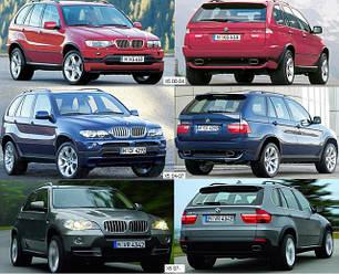 Кузовные запчасти для BMW X5 (E53) 2000-06