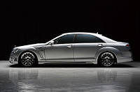 Тюнинг Mercedes S-Class W221 комплект обвеса Wald Black Bison