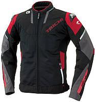 Мотокуртка RS TAICHI Armed High Protection Mesh красный черный 4XL