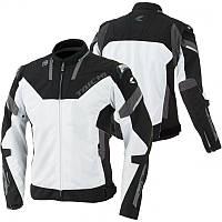 Мотокуртка RS TAICHI Armed High Protection Mesh белый черный 3XL