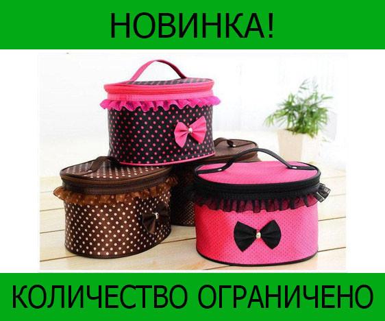 Тканевая косметичка Bow Storage Bag!Розница и Опт